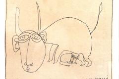 l-amour-maternel-dessin-preparatoire-53-michel-lablais