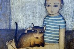 le-gamin-au-chat-57-michel-lablais