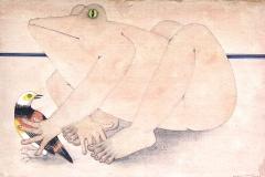 homme-grenouille-2006-michel-lablais