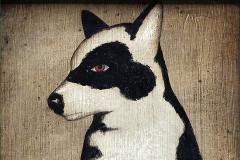 chien-noir-et-blanc-1960-michel-lablais