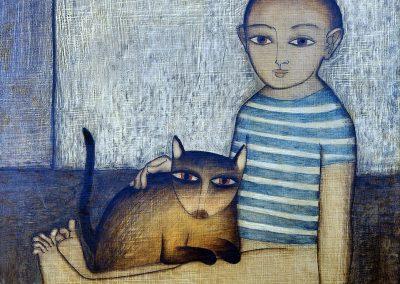 Le gamin au chat - 1957